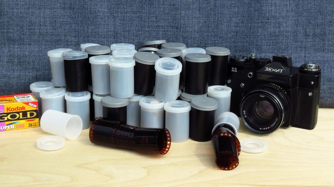 film, camera, retro